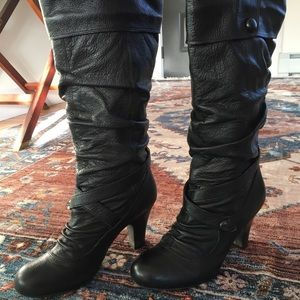 Bakers Shoes - Bakers tall boots